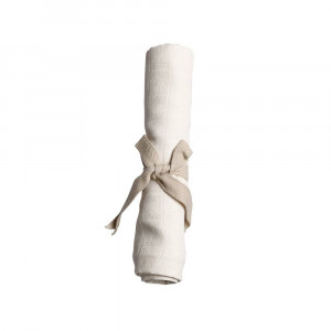 Filibabba muslin stofble hvid