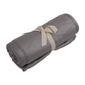 Filibabba sengerand quiltet grå