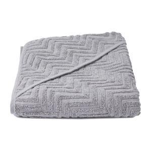 Badeslag Zigzag GOTS i grey