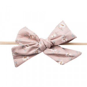 Gry - hårbånd m. sløjfe satin dusty rose
