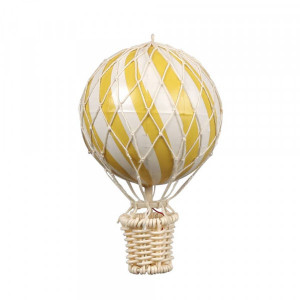 Filibabba luftballon 10 cm lemon