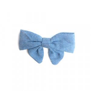 Liva - sløjfe m. spænde blue