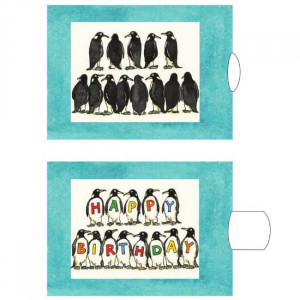 Pingvinerne - postkort