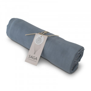 Hula Swaddle Quiet blue - Saga Copenhagen