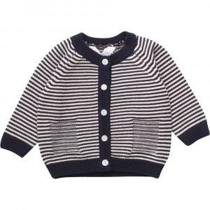 Müsli Knit stripe cardigan