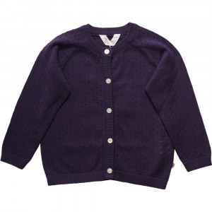 Cardigan - Knit dot - Lavendel