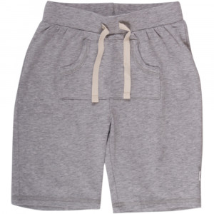 Müsli Cozy me shorts i pale greymarl