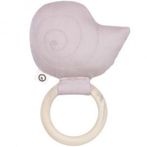 Snail rattle Rose størrelse O/S