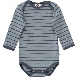 Stripe langærmet body
