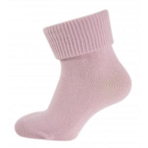 Melton Bløde baby bomuldsstrømper i alt rosa
