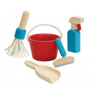 Rengøringssæt - trælegetøj | Plan Toys