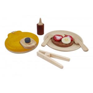 Vaffelsæt - trælegetøj | Plan Toys