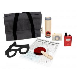 Detektivsæt  - trælegetøj | Plan Toys