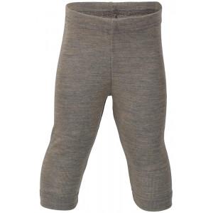 Engel uld/silke leggings - Valnød til baby | Økologisk merinould+silke