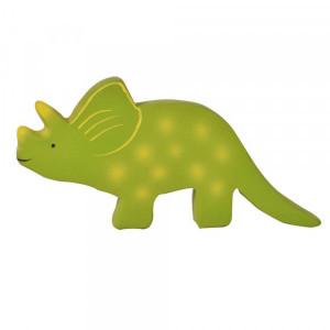 Tikiri baby Trice. Dinosaur bide- og badedyr af naturgummi til baby