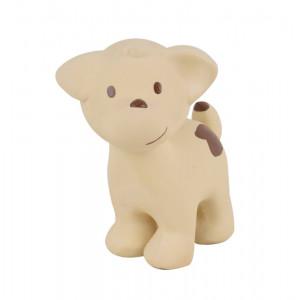 Tikiri Hund. Bide- og badedyr af naturgummi til baby