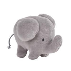 Tikiri bamse elefant | Lille blød sove- og bamsedyr til baby