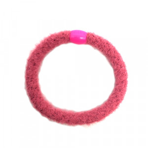 Bow's by Stær - Hårelastik - fluffy pink
