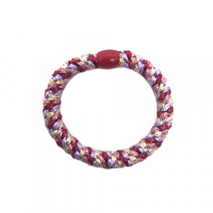 Bow's by Stær - Hårelastik - multi red, purple, gold metallic