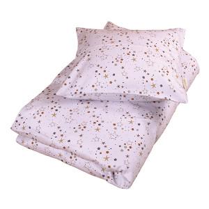 Filibabba stars sengetøj | Light lavender baby og junior sengetøj