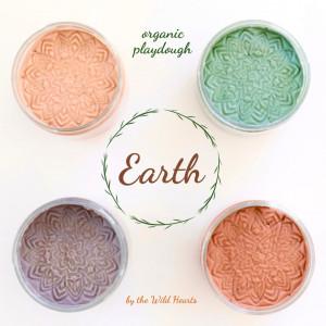 The Wild Hearts økologisk modellervoks sæt - Earth