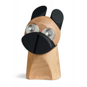 Hunden m/rustfri stål øjne - design figur fra H.C. Andersens eventyr Fyrtøjet