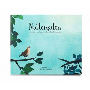 Nattergalen bog, eventyr af H. C. Andersen - hard cover