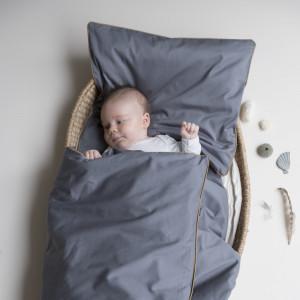 Fabelab baby og junior sengetøj blue spruce