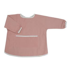 Fabelab Old Rose børneforklæde/hagesmække med ærmer - 4-6 år
