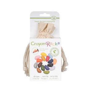 Crayon Rocks farvekridt – 16 stk. i bomuldspose