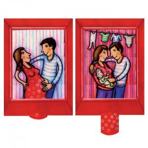 Familieforøgelse - postkort