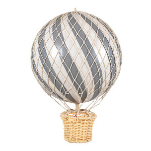 Filibabba luftballon 20 cm grå