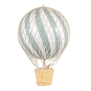 Filibabba luftballon 20 cm dark mint