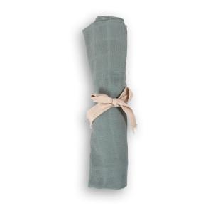 Filibabba muslin stofble GOTS - Moss Green