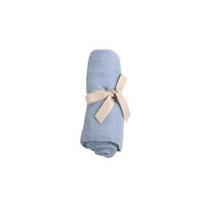 Filibabba muslin stofble GOTS - Powder blue