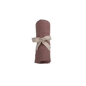 Filibabba muslin stofble GOTS - Dusty rose