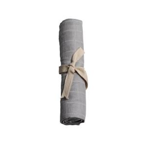 Filibabba muslin stofble GOTS - Grey