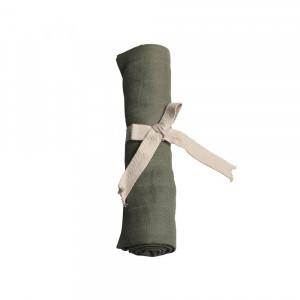Filibabba muslin stofble GOTS - Olive green