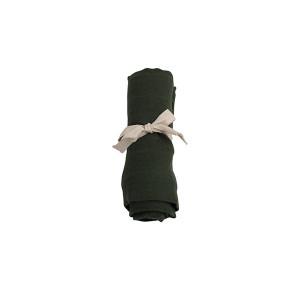 Filibabba muslin stofble GOTS - Dark green