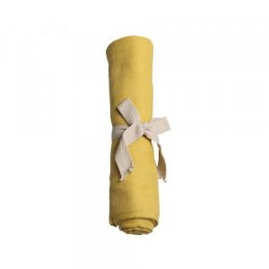 Filibabba muslin stofble GOTS - Lemon