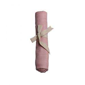 Filibabba muslin stofble GOTS - Rose