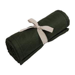 Filibabba sengerand quiltet dark green
