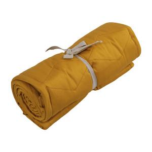 Filibabba sengerand quiltet golden mustard