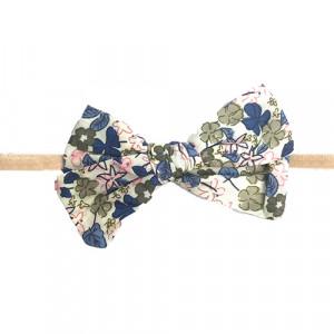 Gry - hårbånd m. sløjfe blue flower
