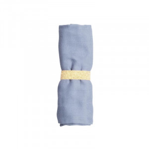 Fabelab bløde muslin baby vaskeklude - Marina blue