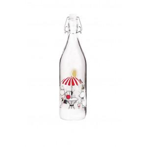 Mumi Summertime glasflaske 1 L